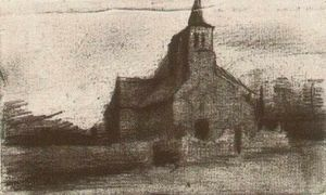 Vincent Van Gogh - Kirche St. Martin in Tongelre