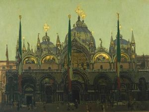 Walter Richard Sickert - Markus, Venedig
