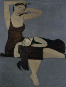 Will Barnet - schlafend kind