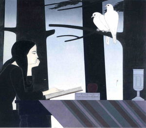 Will Barnet - Selbstbeobachtung