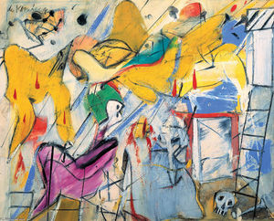 Willem De Kooning - Abstraktion