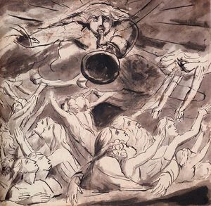 William Blake - Die Auferstehung