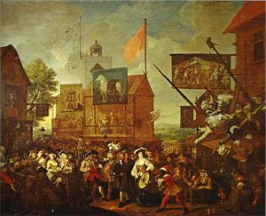 William Hogarth - Southwark Messe