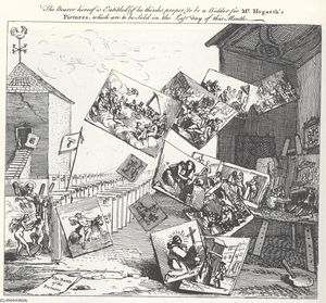 William Hogarth - die schlacht von den bilder