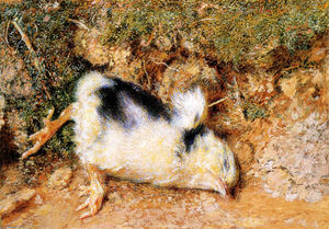 William Holman Hunt - John Ruskin Verstorbenen chick