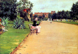 William Merritt Chase - den Park 02