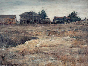 William Merritt Chase - Monterey, Kalifornien