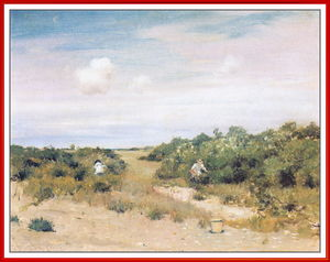 William Merritt Chase - Shinnecock Hills, Longisland