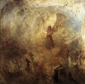 William Turner - der engel stehend an den Sonnen