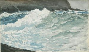 Winslow Homer - Surf, Prouts Neck