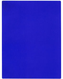 Yves Klein - Internationale Klein Blue