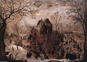 Hendrick Avercamp - winterlandschaft