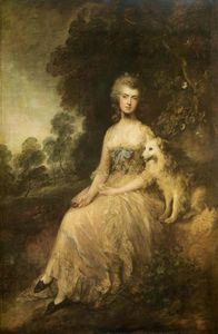 Thomas Gainsborough - Frau . Maria Robinson ( --Perdita-- )