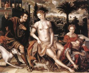 Jan Massys - david und bathsheba