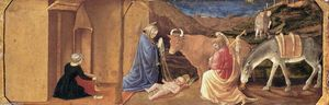 Master Of The Castello Nativity - der geburt