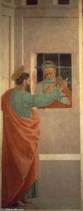Filippino Lippi - St Paul besucht St. Peter in Prison