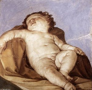 Reni Guido (Le Guide) - Sleeping Putto