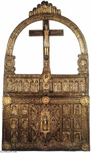 Danish Unknown Goldsmith - Die Golden Altar von Lisbjerg