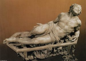 Gian Lorenzo Bernini - das martyrium of Str Lawrence