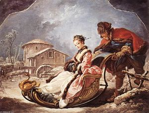 François Boucher - im Winter