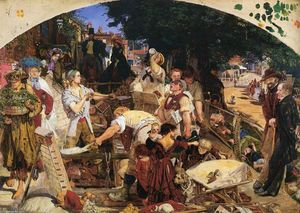 Ford Madox Brown - arbeiten
