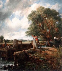 John Constable - Die Lock-