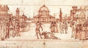 Vittore Carpaccio - der triumph of Str George