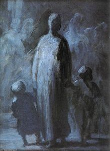 Honoré Daumier - mutter