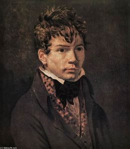 Jacques Louis David - Portrait von Ingres