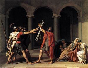 Jacques Louis David - Der Schwur der Horatier