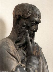 Donatello - Bearded Prophet (Detail)