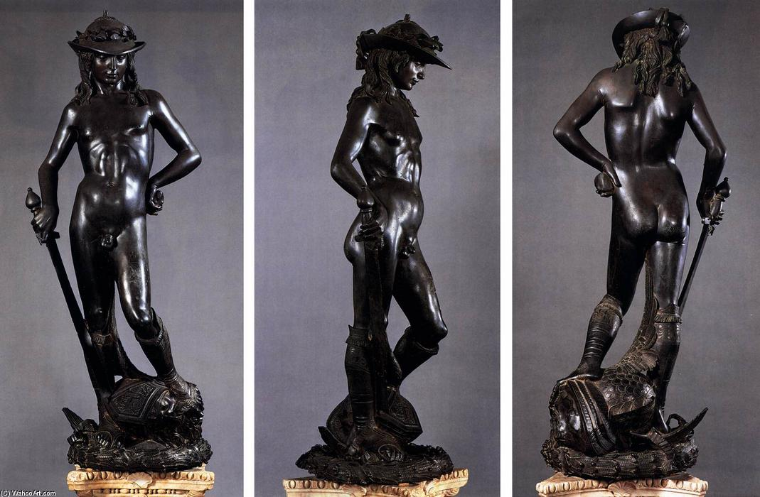 David, 1430 von Donatello (1386-1466, Italy) | WahooArt.com