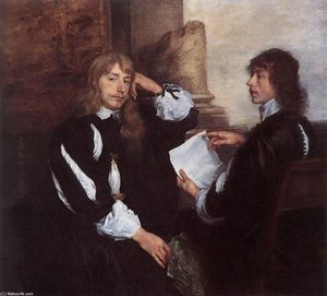 Anthony Van Dyck - Thomas Killigrew und (?) William, Lord Croft