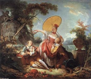 Jean-Honoré Fragonard - Das Musical Contest