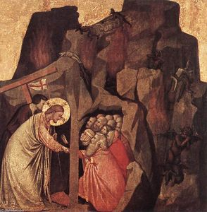 Giotto Di Bondone - Descent into Limbo