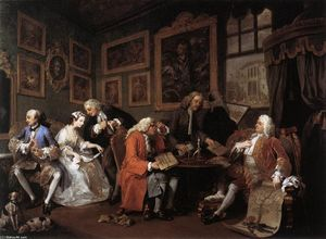 William Hogarth - Marriage à la Mode