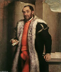 Giovanni Battista Moroni - Portrait of Antonio Navagero