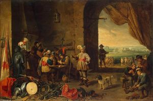 David The Younger Teniers - Wachstube