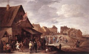 David The Younger Teniers - dorf fest