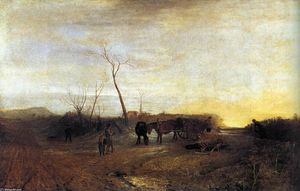 William Turner - Eisiger Morgen