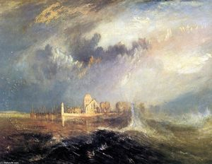 William Turner - Quillebeuf, an der Mündung der Seine