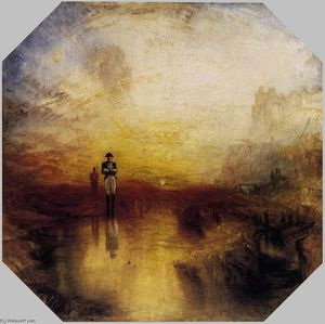 William Turner - War das Exil und die Rock-Limpet