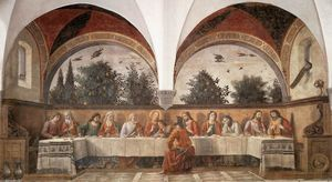 Domenico Ghirlandaio - Last Supper (11)