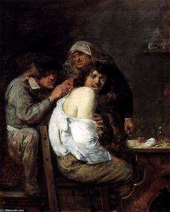 Adriaen Brouwer - The Back Betrieb