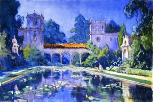 Colin Campbell Cooper - lilie see , Balboa Park entfernt