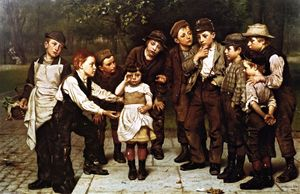 John George Brown - der verlorene kind