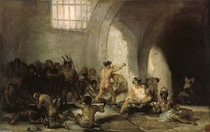 Francisco De Goya - Die Madhouse