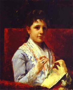 Mary Stevenson Cassatt - Mary Ellison Sticken