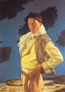 William Newenham Montague Orpen - Der Mann aus Aran