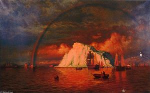 William Bradford - mitternacht sonne